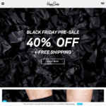 Happy Socks 40% off Black Friday/Cyber Monday Sale + Free Shipping