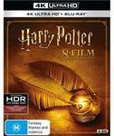 Harry Potter 8 Film 4k UHD 8 Blu-Ray (New Release) $118.10 C&C with Instant Deals Members 10% off Code (RRP $164) @ JB Hi-Fi