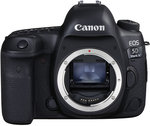 Canon EOS 5D Mark IV Body - $3,819.80 (after $250 cashback) @ digiDIRECT