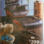 Replica Eames Chair with Ottoman for $299 @ ALDI