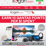 10 Qantas Points/$1 Spent at Kogan