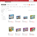 25% off LEGO @ Myer - Online & in-Store Today Only