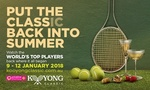 Kooyong Classic Tennis Tournament - $20 Tickets (+ $4.95 Admin Charge) @ Groupon - MELBOURNE