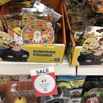 Minions Surprise Figures $1 Each @ Big W (down from $5)