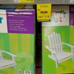 [WA] Kids Cape Cod / Adirondack Chair White - $20.00 Clearance @ Bunnings