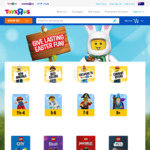 Selected LEGO 25% off + Secret Sale $20 off $100, $35 off $150, $50 off $200 (E.g LEGO Idea Saturn V $106.93) @ Toys R' Us