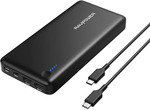 RAVPower 26800mAh PD 30W USB-C Port Power Bank $90 Delivered @ Sobre