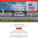 [QLD] 25% off Brisbane Airport Parking (BAP-Early Bird)