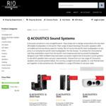 Q Acoustics 3050 Floorstanding Speakers $899, 3010/3020 Bookshelf Speakers $299/$399 + More @ RIO Sound and Vision