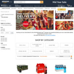Free Expedited Delivery on Coca-Cola Drinks @ Amazon AU - Eg Fanta, Lift or Sprite 20x375ml $13.40, Mt Franklin 20x500ml $10