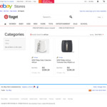 Philips Daily Collection Airfryer $141.68 @ Target, Turbostar $202.92 @ Binglee, Digital $284.08, Twin $355.28 @ Myer eBay