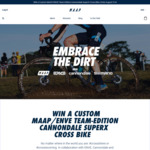 Win a Cannondale SuperX Cross Bike & $1,000 Worth of Cycling Gear from MAAP