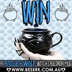 Win A Rogue and Wolf Witch Cauldron Mug from Beserk Clothing on Instagram