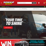 Free Shipping Sitewide @ Supercheap Auto (Bucket & Sponge Combo $2 Delivered)