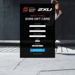Win a $1,000 Gift Card from 2XU