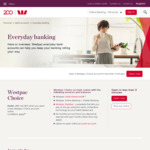Westpac Choice Transaction Account: $50 Cashback for under 25's (When You Deposit $250 within 45 Days)