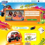 Win a Share of 11156 Prizes Inc a Jeep, Fiji Holday and More from Zuru (No Purchase Needed)