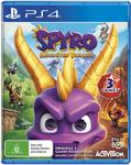 [Pre Order, PS4] Spyro Reignited Trilogy $34 Delivered @ Amazon App (First Order)