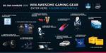Win 1 of 47 Prizes (Alienware Laptop/ Intel i7-8700k/ NEEDforSEAT Voucher/ Logitech G Peripherals/ etc) from ESL