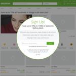10% off Sitewide + 15% Cashback via Shopback @ Groupon