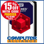 """WD Red 3.5"""" SATA HDD 10TB $407.15 + $15 Delivery (Free Delivery with eBay Plus) @ Computer Alliance eBay"""