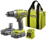 Ryobi One+ 18V 2x1.3Ah Li-Ion Hammer Drill Kit $99 (RRP $179) @ Bunnings