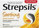 Strepsils Throat Lozenges Soothing Honey & Lemon (Count of 36) $5.49 + Delivery (Free with Prime/ $49 Spend) @ Amazon AU