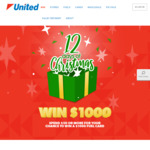 Win 1 of 12 $1,000 United Petroleum Gift Cards [Spend $50+ on Fuel, Convenience Products and/or Pie Face at United Petroleum]