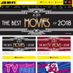 20% Off Blu-Ray, 4k and DVD @ JB Hi-Fi