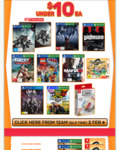 EB Games under $10 (Dissidia Final Fantasy NT, Mafia 3, Destiny 2, Wolfenstein New Order, Far Cry 3 Classic etc.)