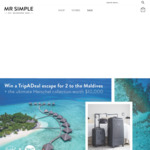 Win a Maldives Escape for 2 & Herschel Products Worth $10,600 from Herschel/TripADeal