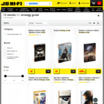 Video Game Strategy Guides starting from $1 @ JB Hi-Fi