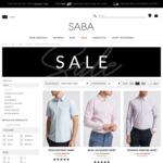 100% Cotton Shirt (Long/Short Sleeve) $19 (Was $149-$129) 7 Choices (C&C or + Shipping) @ SABA