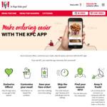 $4 off @ KFC via App (Min. Spend $5)