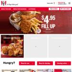 KFC $10 Popcorn Bucket / $2 Sliders [App Only]