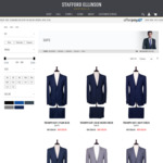 Further 25% off All Suits (Suits from $149, Superfine Merino Wool from $261) @ Stafford Ellinson