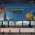 [VIC] Eureka Skydeck $12 Entry for use within 6 months (Online Only)