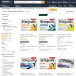 Strepsils Throat Lozenges from $5.84 + Delivery (Free with Prime/ $49 Spend) @ Amazon AU