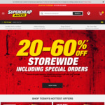 20-60% off Storewide @ Supercheap Auto (Saturday, Online & In-Store; Sunday, Online Only)