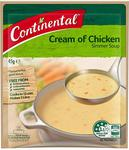 Multi-Buy Bargains Eg: 48x Continental Simmer Soup Cream of Chicken - $4.20 & Delivery/Free with Prime @ Amazon