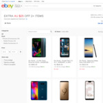 [eBay Plus] LG V40 $636, Q60 $296, Pixel 2 XL $544 / 3XL $807, Note 8 $697 & More (+12000mAh Power Bank for $1) @ Allphones eBay