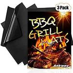 Ankway Non Stick Grilling Mats (Set of 3, Was $18.99) $12.34 + Delivery ($0 with Prime/ $39 Spend) @ Ankway Amazon AU