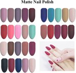 31% off Matte Nail Polish 5 Colour Set Plus Free Gift $33.95 Delivered @ Carlo Rista