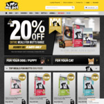 20% off Meals for Mutts/Meows Range (9kg From $51, 20kg From $101) Delivered @ My Pet Warehouse