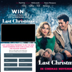 Win 1 of 90 Double Passes to a VIP Screening of Last Christmas in Melb/Sydney/Brisbane/Perth/Adelaide from Daily Mail Australia