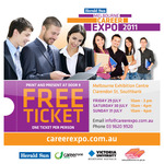Free Ticket to The Melb Herald Sun Career Expo 2011