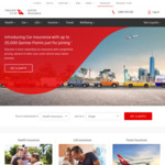Car Insurance Policy - Earn up to 20,000 Qantas Points + up to 6000 Points through Wellbeing App @ Qantas