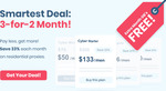 Black Friday/Cyber Monday Smartproxy Deal: Get 3 Months for The Price of 2 - Price Starting from US $50/Month