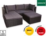Gardenline Corner Wicker Lounge $299 @ ALDI