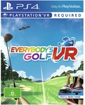 [PS4] Everybody's Golf VR $17 + $3.90 Delivery @ Big W